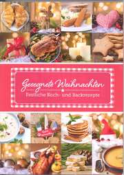 Weihnachtsset: Rezeptbuch mit Kochlöffel