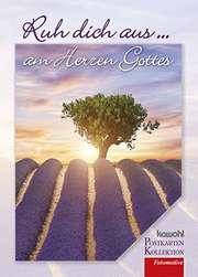 Postkartenbuch: Ruh dich aus am Herzen Gottes