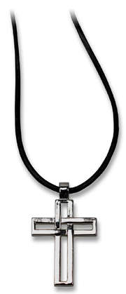 """Halskette mit Anhänger """"Kreuz"""""""