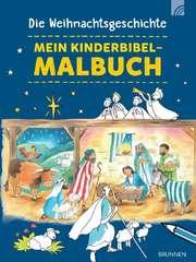 Die Weihnachtsgeschichte - Mein Kinderbibel-Malbuch