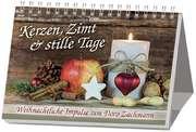 Kerzen, Zimt und stille Tage - Aufstellbuch