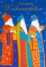 """Faltkarte """"Gold, Weihrauch, Myrrhe"""""""