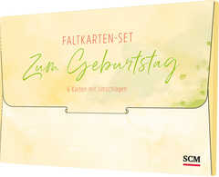 "Faltkarten-Set ""Zum Geburtstag"""