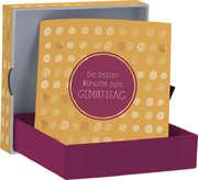 Die besten Wünsche zum Geburtstag - Geldscheinbox