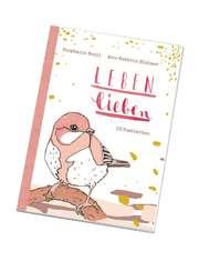 Leben lieben - Postkartenbuch