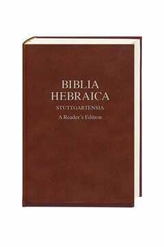 Biblia Hebraica Stuttgartensia - A Reader´s Edition