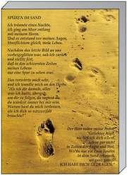 Memo Block A5: Spuren im Sand