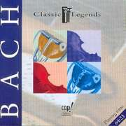 CD: Classic Legends Bach
