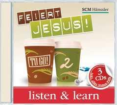 2-CD: Feiert Jesus! - to go 2 - Listen and Learn