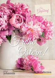 Ein Grußbrief - Frohe Ostern! - 5 Stück