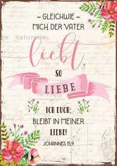 """Postkartenserie """"Gleichwie mich der Vater liebt"""" - 12 Stück"""