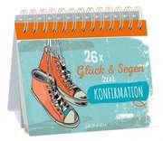 26x Glück und Segen zur Konfirmation - Aufstellbuch